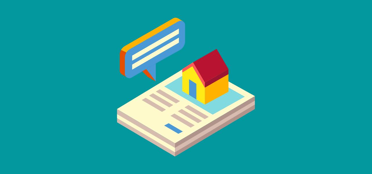 Teknisk tilstandsanalyse vist med bolig og rapport