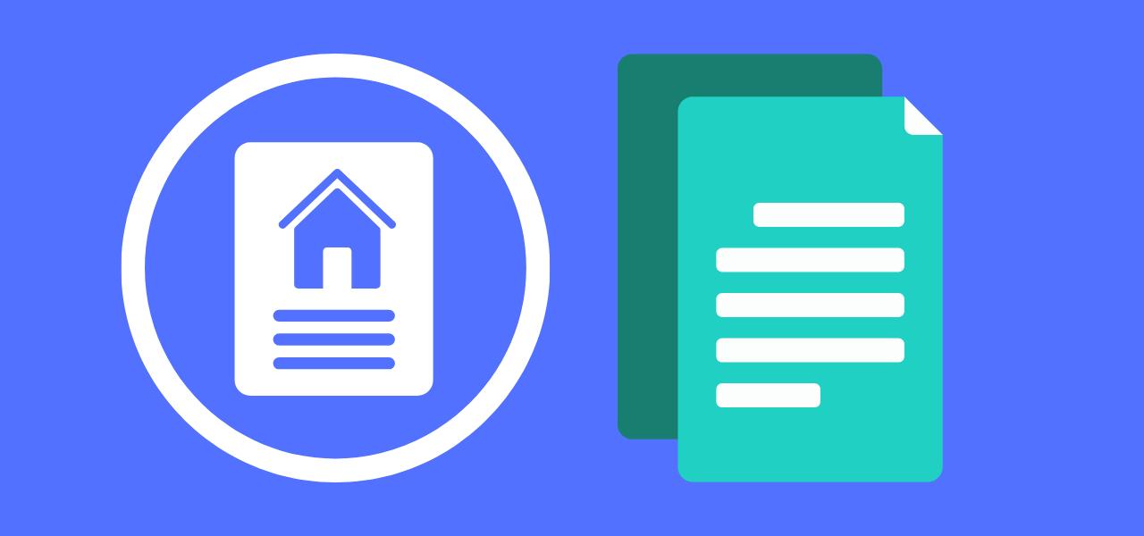 Dokument av boligsalgsrapport og tilstandsrapport