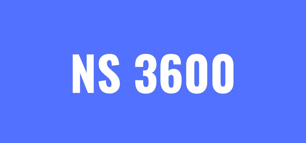 NS 3600 standard boligsalgsrapport og tilstandsrapport