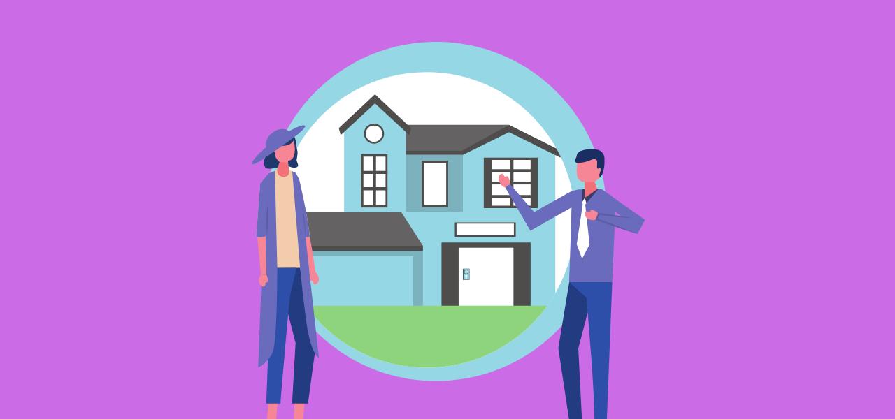 Boligkjøper møter boligselger