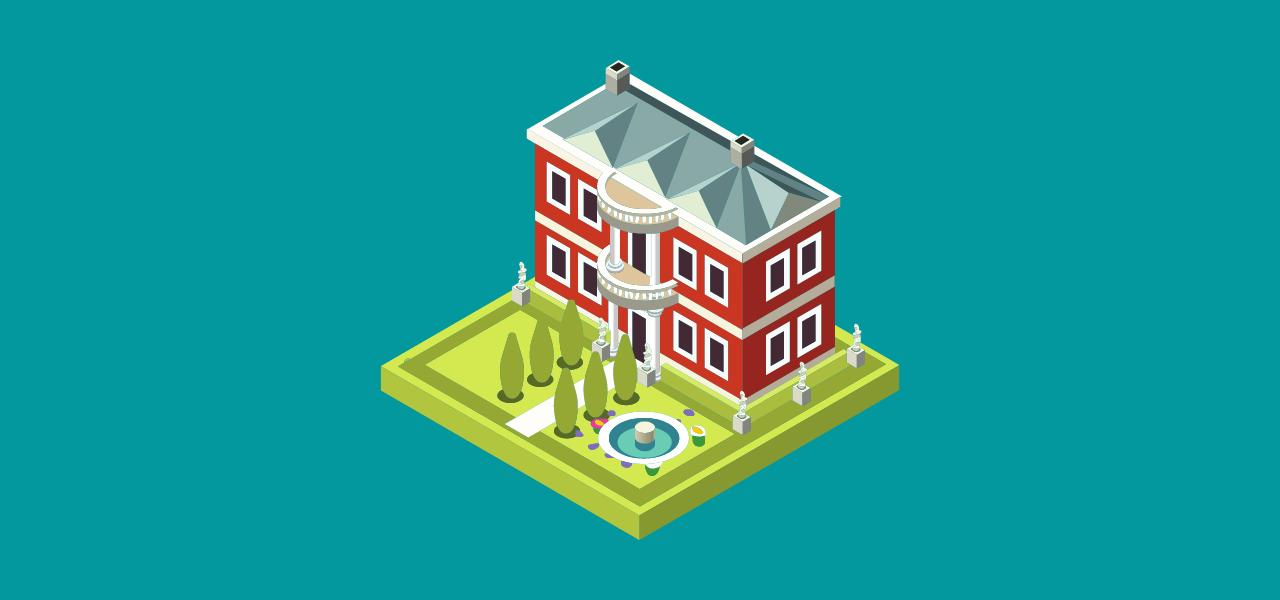 Hus som er klargjort for visning